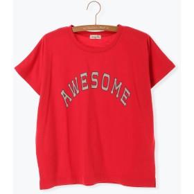 【5,000円以上お買物で送料無料】AWESOME ロゴプリントTシャツ