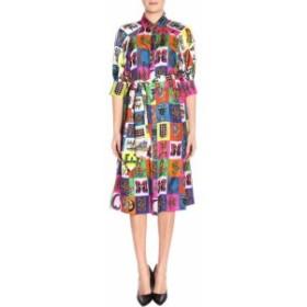 ヴェルサーチ ドレス カジュアルドレス 結婚式用 レディース【Versace Dress Dress Women Versace】multico