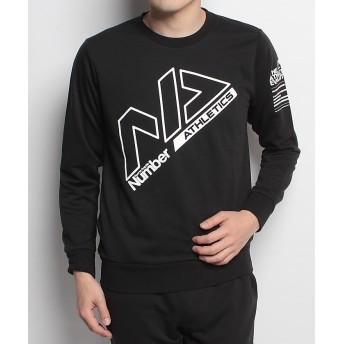 販売主:スポーツオーソリティ ナンバー/メンズ/クルーネックスウェット メンズ ブラック XO 【SPORTS AUTHORITY】