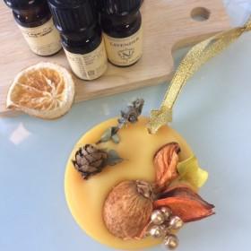 アロマ ワックスバー サシェ オレンジの香り。