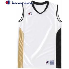 Champion(チャンピオン) JUNIOR GAME SHIRTS バスケット ゲームシャツ CBYR2032-WK