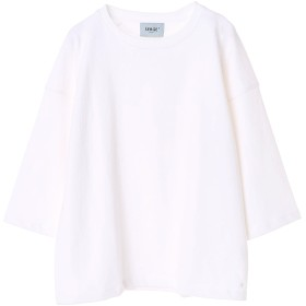 SERGE de bleu CREW-8 SLEEVE-T Tシャツ・カットソー,WHITE