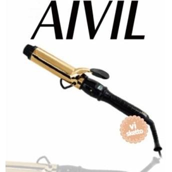 アイビル D2アイロン ゴールドバレル 38mm 正規品 AIVIL カールアイロン コテ 美容室 美容専売品