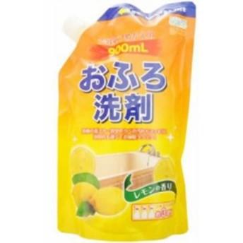 ロケット石鹸 エコグッド おふろ洗剤 レモンの香り つめかえ用 900ml 【日用消耗品】