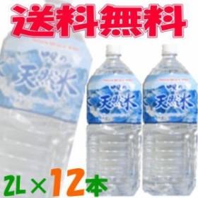 【送料無料(沖縄・離島除く)】ソーケンビバレッジ 甲斐の天然水 2L 6本入×2ケース(12本