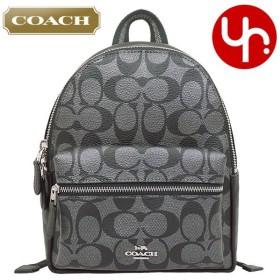 コーチ COACH バッグ リュック F39511 ガンメタル チャーリー メタリック シグネチャー PVC レザー ミニ バックパック アウトレット レディース