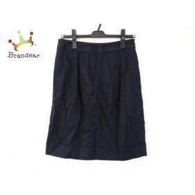 トゥモローランド TOMORROWLAND スカート サイズ38 M レディース ダークネイビー           スペシャル特価 20190523【人気】