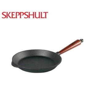 SKEPPSHULT シェップスフルト フライパン ブナ材ハンドル 18cm S0180T 【アウトドア/フライパン/料理/ダッチウエストジャパン/Dutchwest Japan】