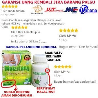 Rp 69.000. ORIGINAL Meizitang Slimming Capsule MZT BPOM ...