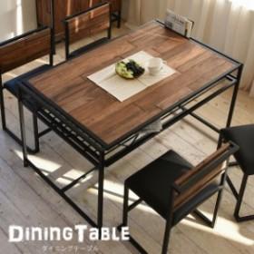 ダイニングテーブル 天然木 北欧 木製 テーブル 作業台 ダイニングセット 北欧 木製 アイアン おしゃれ オイル アンティーク 植物性オイ