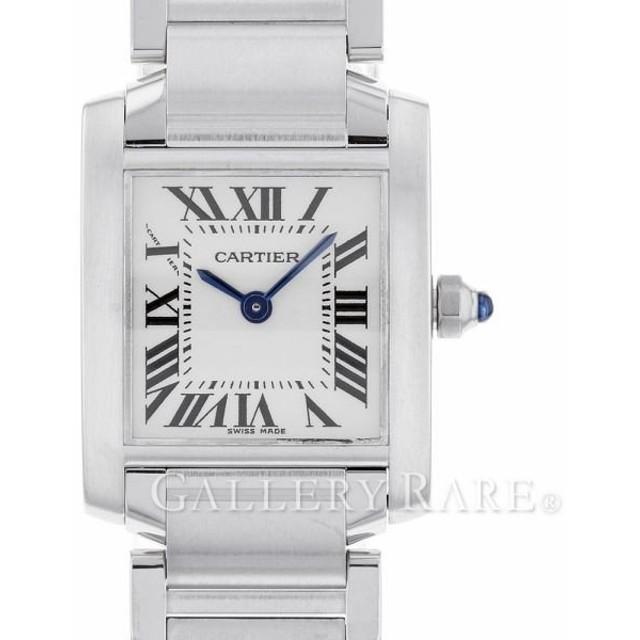 meet 93bf2 bcf1b カルティエ タンクフランセーズSM W51008Q3 Cartier 腕時計 ...