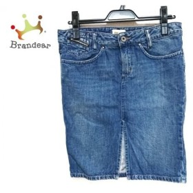 ディーゼル DIESEL スカート サイズ26 S レディース ブルー デニム               スペシャル特価 20190522