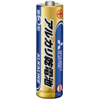 (まとめ)三菱電機 アルカリ乾電池 単3形LR6N/4S 1セット(40本:4本×10パック)〔×3セット〕