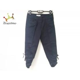 ギャラリービスコンティ GALLERYVISCONTI パンツ サイズ2 M レディース 黒 7分丈     スペシャル特価 20190728