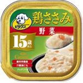 日本ペットフード ビタワングー鶏ささみ15歳以上野菜入り90g