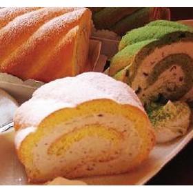 「茶句庭ながの」 抹茶・紅茶ロールケーキ17cm×2本スイーツセット