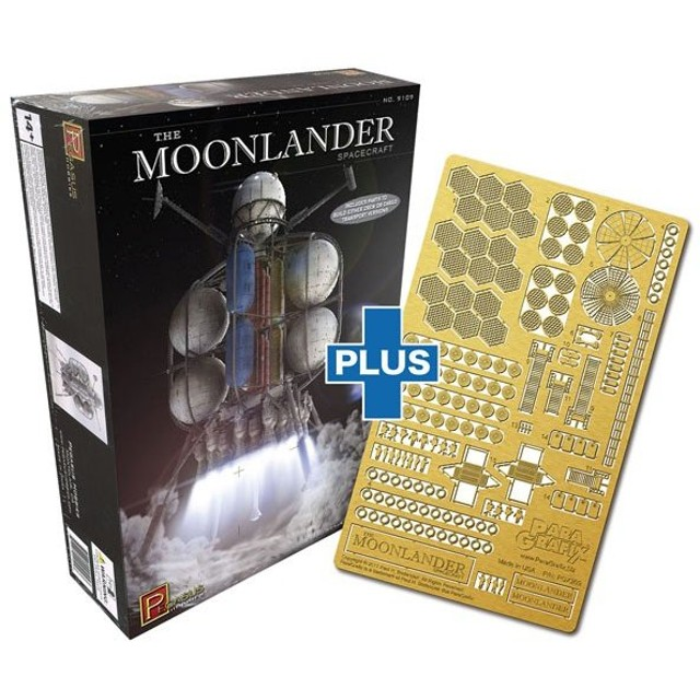 1/350 ムーンランダー フォン・ブラウン博士の月面探査機 専用ディテールアップセット プラモデル[パラグラフィックス/ペガサスホビー]《在庫切れ》