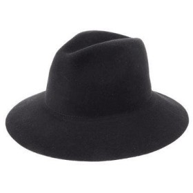 イーハイフンワールドギャラリー E hyphen world gallery Wool Felt Hat (Black)