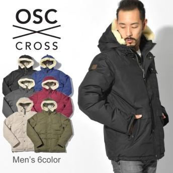 OSC CROSS オーエスシークロス ダウンジャケット メンズ ラサール LASALLE M02CX アウター