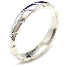0403f062d585 (ジュエリー)CHAUMET ショーメ トルサード マリッジリング 指輪 Pt950 プラチナ 18.5号 #18.5 (