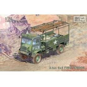 IBG 72005 1/72 英ベッドフォードQL 3ton 4x4トラック 消防車タイプ