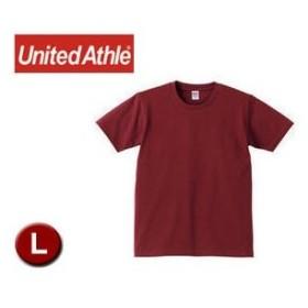 United Athle/ユナイテッドアスレ  540101C  5.0オンスTシャツ アダルトサイズ 【L】 (バーガンディ)