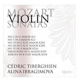 Mozart モーツァルト / ヴァイオリン・ソナタ全集 第5集 アリーナ・イブラギモヴァ、セドリック・ティベルギ