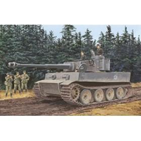 ドラゴン 6252 1/35 WW.II ドイツ軍 ティーガーI 極初期型 第502重戦車大隊 レニングラード 1943年(3イン1)