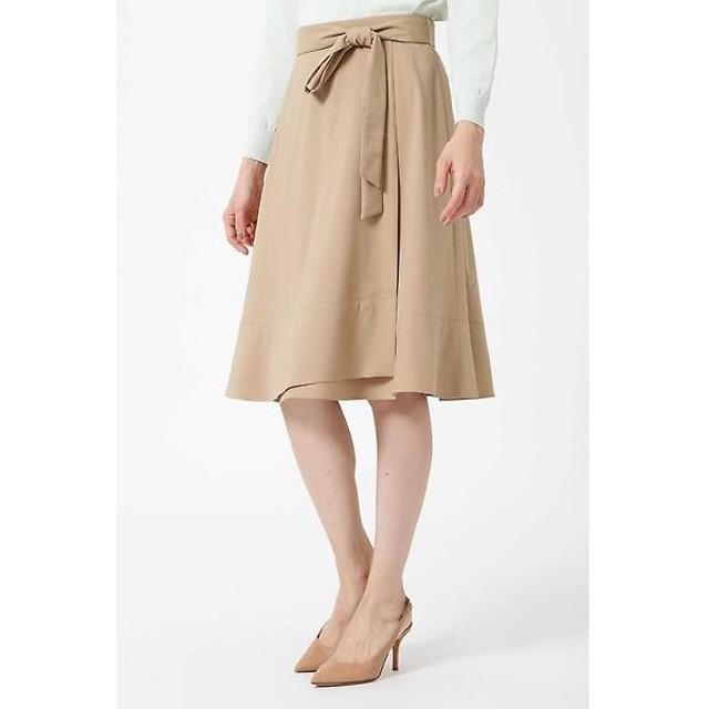 NATURAL BEAUTY 裾フレアラップスカート