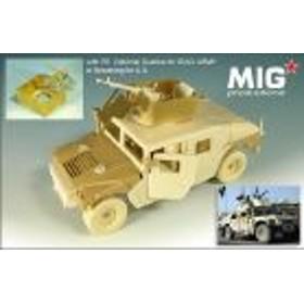 MIG productions 35-269 1/35 M1114 ハンビー装甲強化型 装甲キューポラ付(レジン、タミヤ用)