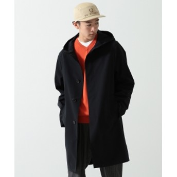 Traditional Weatherwear × BEAMS / 別注 クリストン コート メンズ ステンカラーコート NAVY 38