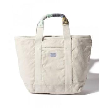 PORTER × fennica × B印 ヨシダ / 別注 ラグハンドル トートバッグ(M) メンズ トートバッグ WHITE ONE SIZE