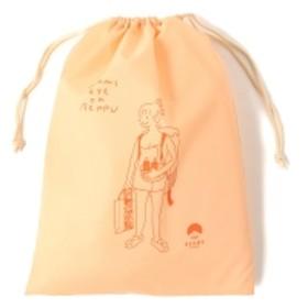 別府 BEAMS JAPAN / 湯美ちゃん 巾着 バッグ L レディース その他バッグ ピーチオレンジ ONE SIZE
