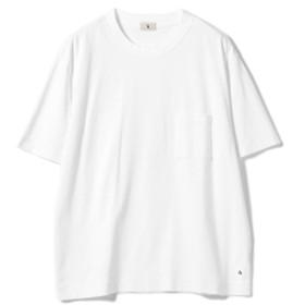 A. / クルーネック ポケットTシャツ メンズ Tシャツ WHITE S
