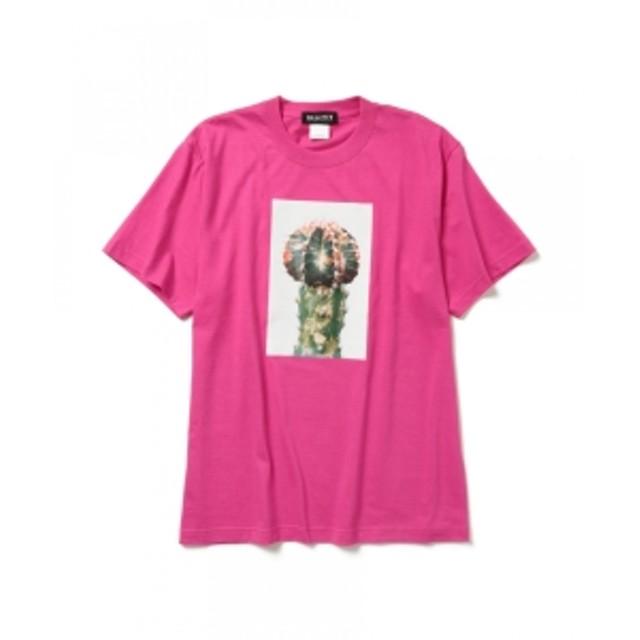 B GALLERY Qusamura Art-T-shirts Project / Ishiuchi Miyako メンズ Tシャツ PINK S