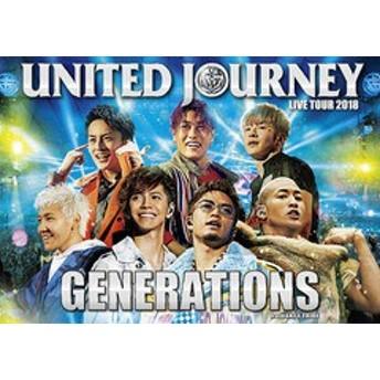 送料無料有/[DVD]/GENERATIONS from EXILE TRIBE/GENERATIONS LIVE TOUR 2018 UNITED JOURNEY [通常版]/RZBD-86753