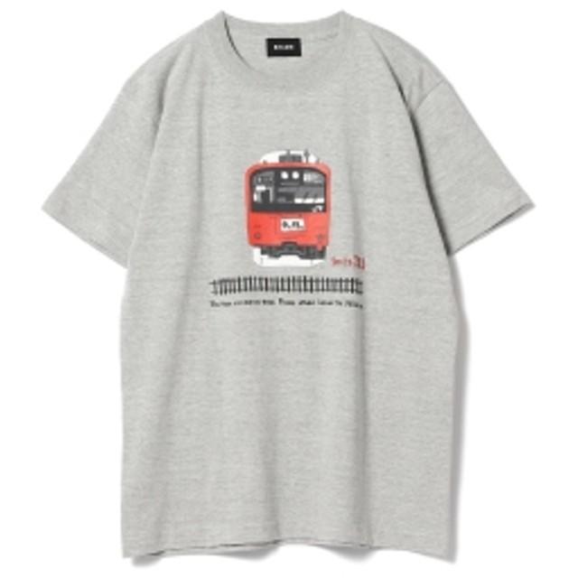 JR × BEAMS / ショート スリーブ Tシャツ メンズ Tシャツ CHUO LINE S