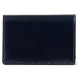 PORTER / PORTER BILL CORDOVAN CARD CASE メンズ 名刺入れ・カードケース DEEP BLUE ONE SIZE