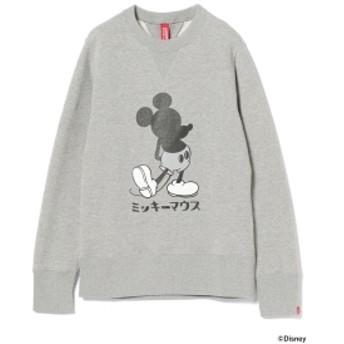 LOOPWHEELER × BEAMS JAPAN / 別注 吊り裏毛 スウェットシャツ メンズ スウェット GREY L