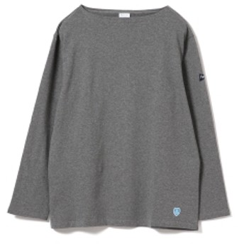 <MEN> ORCIVAL × Pilgrim Surf+Supply / 別注 Cotton Cut and Sewn メンズ カットソー GREY MELANGE 5
