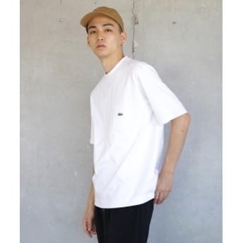 LACOSTE × BEAMS / 別注 Tシャツ メンズ Tシャツ WHITE 1