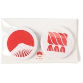 【WEB限定】BEAMS JAPAN / 都道府県の缶バッジ セット メンズ バッジ 島根県 ONE SIZE