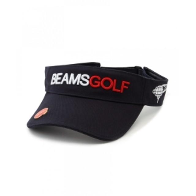 BEAMS GOLF BEAMS GOLF / スタンダード サンバイザー メンズ その他帽子 NAVY ONE SIZE