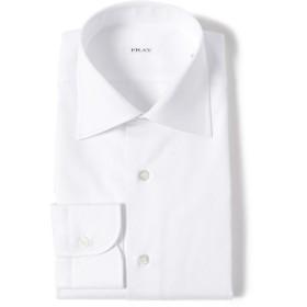 FRAY / ドビー セミワイドカラーシャツ メンズ ドレスシャツ WHITE 39