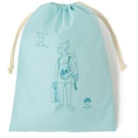 別府 BEAMS JAPAN / 湯美ちゃん 巾着 バッグ L レディース その他バッグ アクアブルー ONE SIZE
