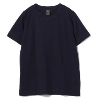 <MEN>homspun / 半袖 インディゴ Tシャツ メンズ Tシャツ INDIGO S