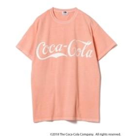 Coca-Cola / ピグメント Tシャツ メンズ Tシャツ ORANGE M