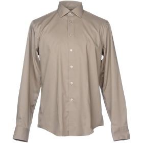《セール開催中》CALVIN KLEIN メンズ シャツ ベージュ 41 コットン 97% / ラストール XLA 3%
