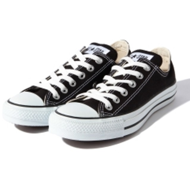 CONVERSE / ALL STAR LOW レディース スニーカー BLACK 6