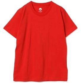 RENOWN × BEAMS JAPAN / 別注 紅白 Tシャツ メンズ Tシャツ RED L
